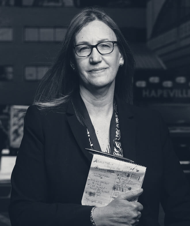 A photo of journalist Carrie Teegardin