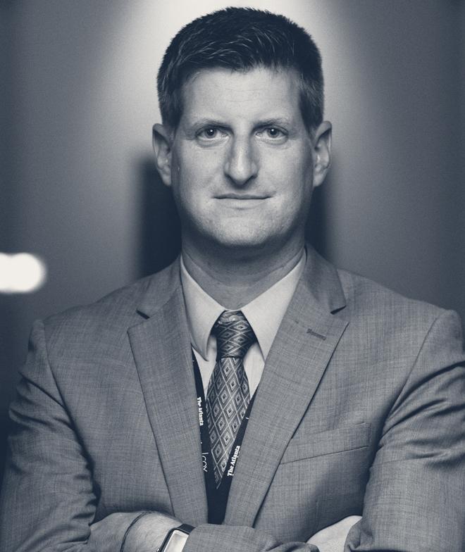 A photo of journalist Greg Bluestein