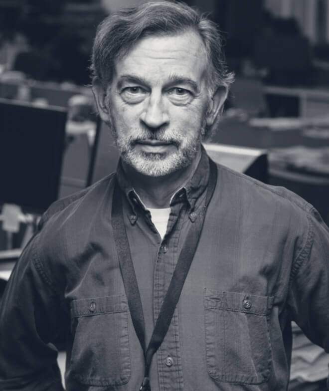 A photo of journalist John Perry