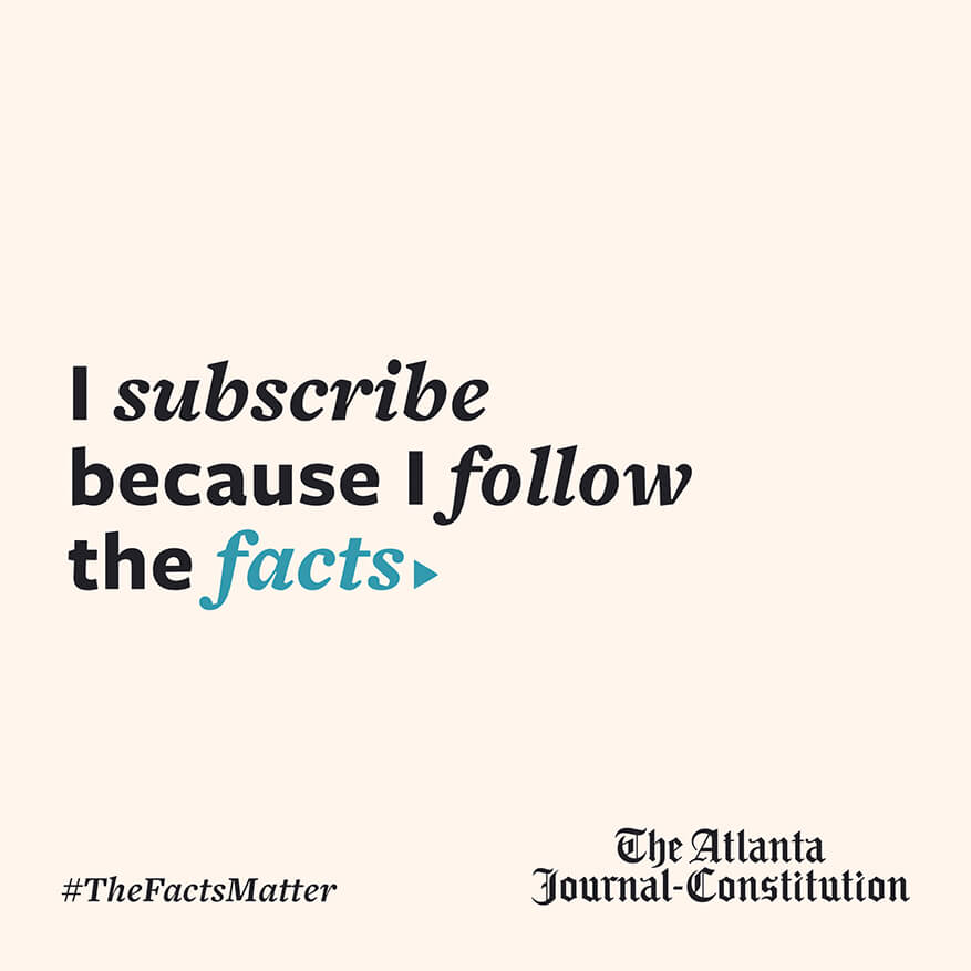 I subscribe because I follow the facts
